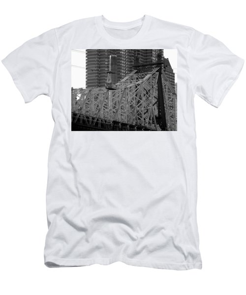 Roosevelt Island Tram Men's T-Shirt (Athletic Fit)