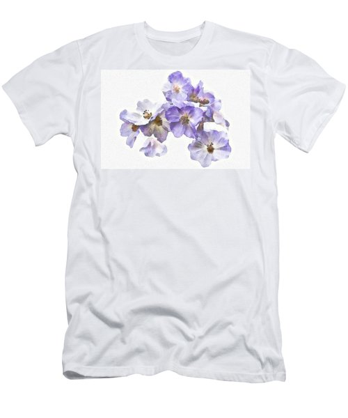 Rosa Canina - Watercolour Men's T-Shirt (Athletic Fit)