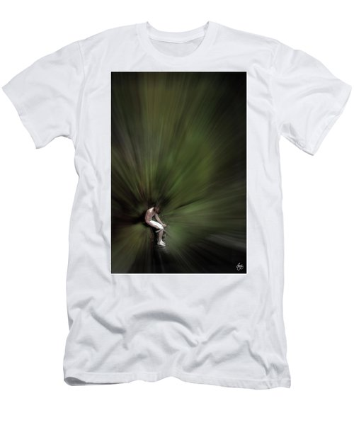 Men's T-Shirt (Athletic Fit) featuring the photograph Roscoe by Wayne King