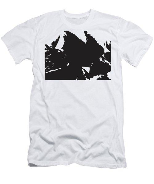 Rose Transformed Men's T-Shirt (Athletic Fit)