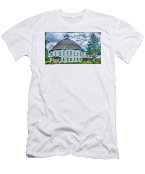 Round Barn, Adams County Men's T-Shirt (Slim Fit) by R Thomas Berner