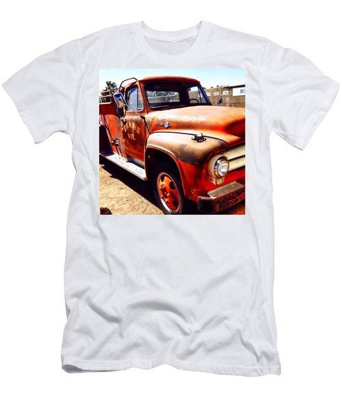 Route 66 Men's T-Shirt (Slim Fit) by Mark David Gerson