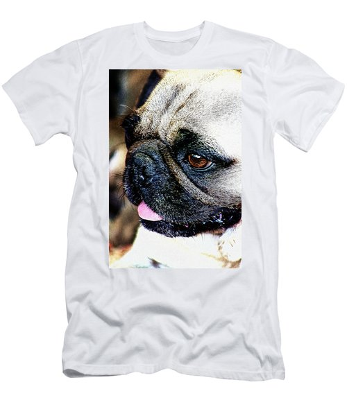 Roxy The Pug Men's T-Shirt (Athletic Fit)