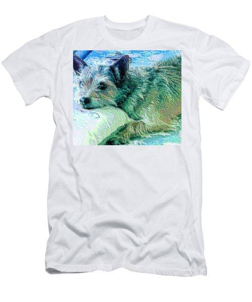 Roxy Men's T-Shirt (Slim Fit) by Vickie G Buccini