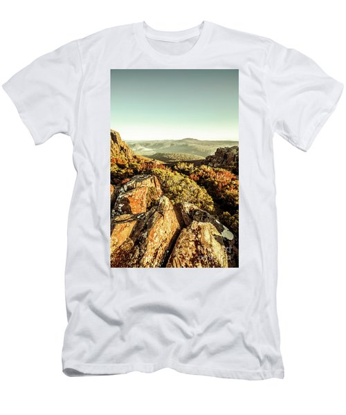 Rugged Mountaintops To Regional Valleys Men's T-Shirt (Athletic Fit)