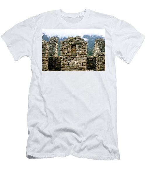 Ruins In A Lost City Men's T-Shirt (Athletic Fit)