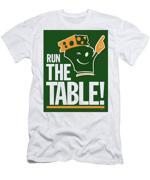 Run The Table Men's T-Shirt (Athletic Fit)