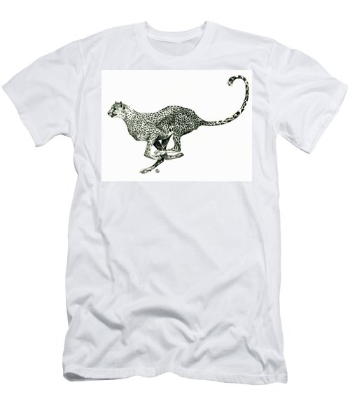Running Cheetah Men's T-Shirt (Athletic Fit)