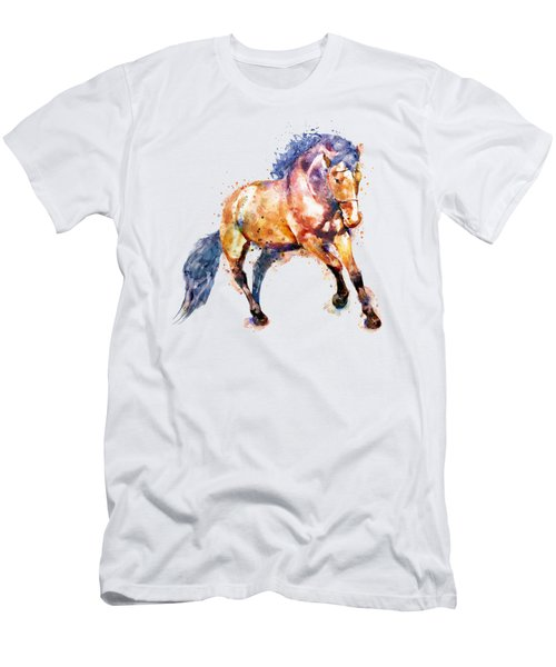Running Horse Men's T-Shirt (Athletic Fit)