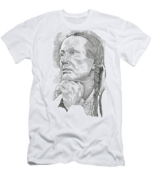 Russell Means Men's T-Shirt (Athletic Fit)