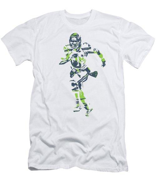 Russell Wilson Seattle Seahawks Pixel Art T Shirt 2 Men's T-Shirt (Athletic Fit)