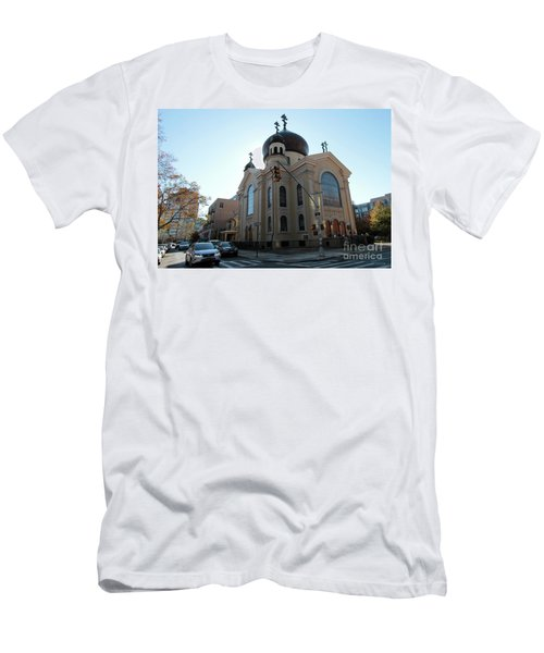 Russian Orthodox Cathedral Of The Transfiguration Of Our Lord Men's T-Shirt (Athletic Fit)