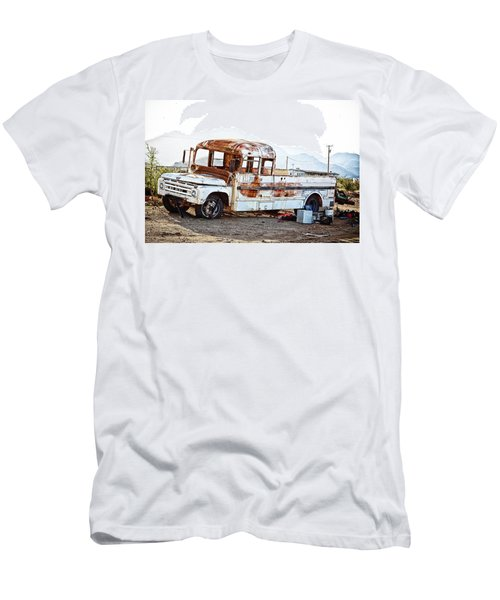 Rusted Abandoned Truck Men's T-Shirt (Athletic Fit)