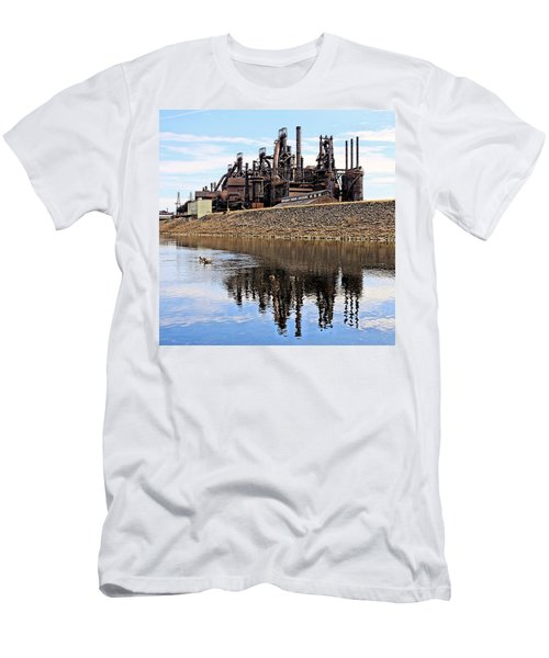 Rusted Relection Men's T-Shirt (Athletic Fit)