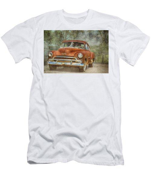 Rusty Men's T-Shirt (Slim Fit) by Pamela Williams
