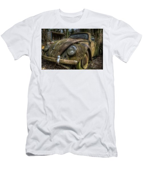 Rusty Vee Dub  Men's T-Shirt (Slim Fit) by Nathan Wright