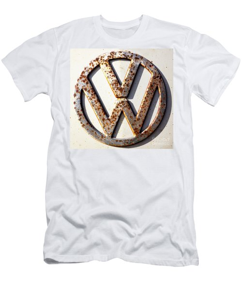 Vintage Vw Sign Men's T-Shirt (Athletic Fit)