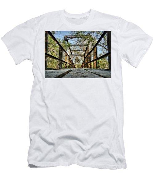 Englewood Bridge Men's T-Shirt (Slim Fit) by Cricket Hackmann