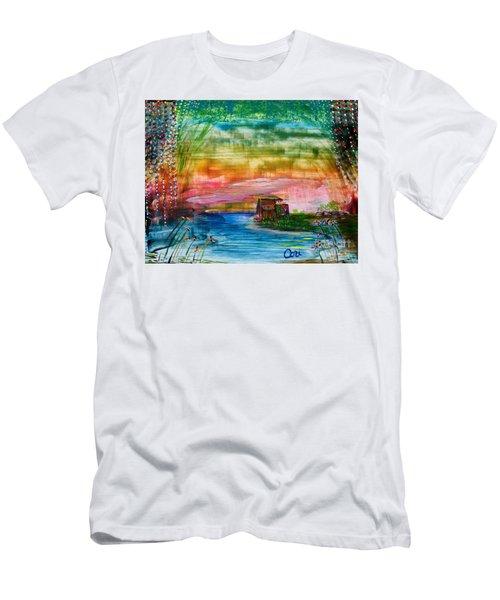 Rv Life Dinnertime Men's T-Shirt (Athletic Fit)