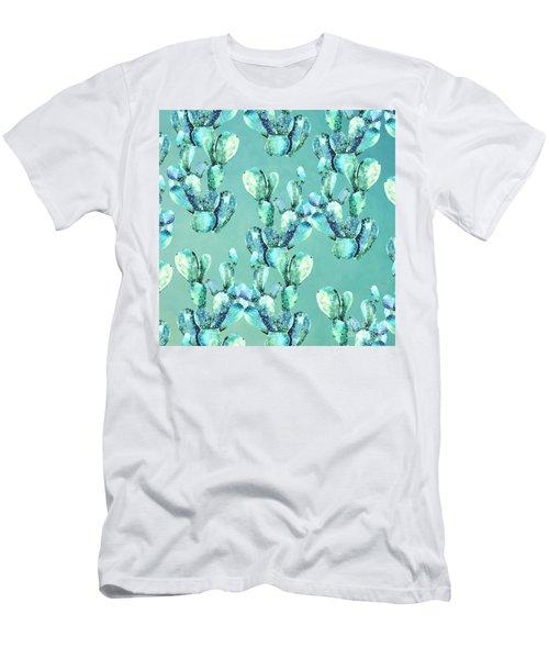 Sabers Tropical  Men's T-Shirt (Athletic Fit)