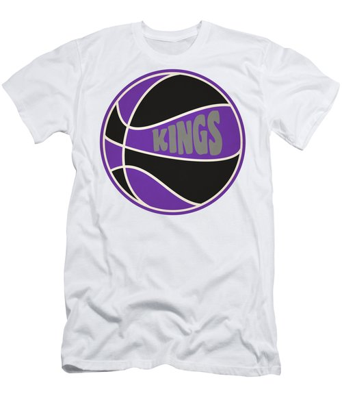 Sacramento Kings Retro Shirt Men's T-Shirt (Slim Fit) by Joe Hamilton