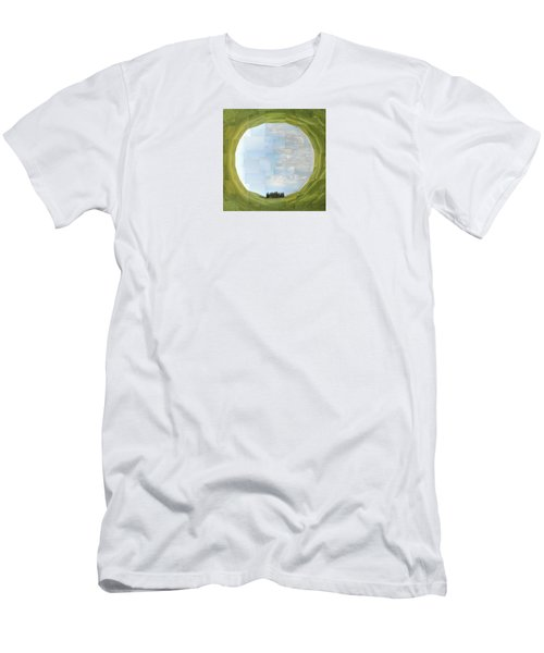 Sacred Planet - Tuscan Cypresses Men's T-Shirt (Athletic Fit)