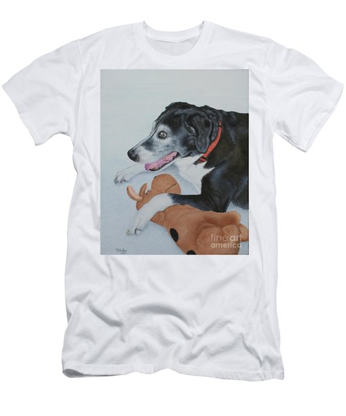 Men's T-Shirt (Slim Fit) featuring the painting Sadie by Mike Ivey