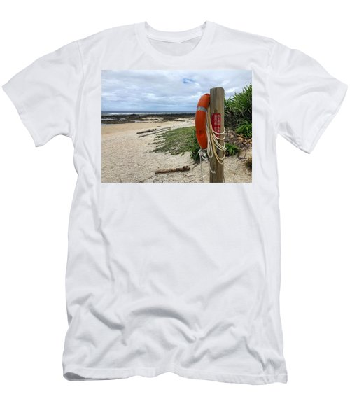 Men's T-Shirt (Athletic Fit) featuring the photograph Safety First by Brian Eberly