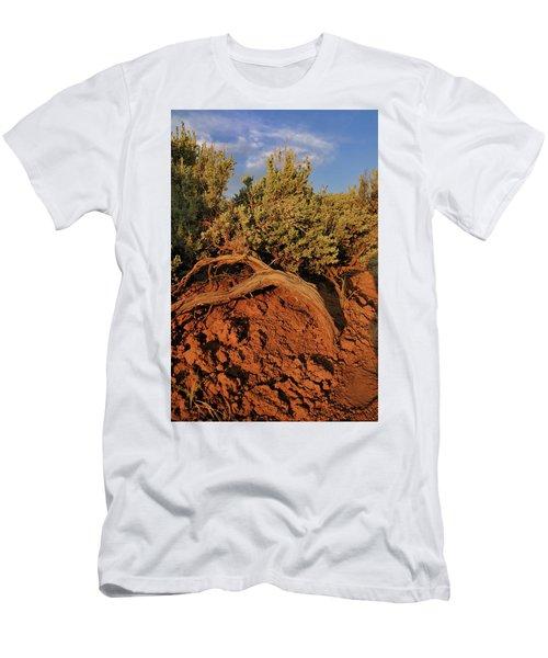Sagebrush At Sunset Men's T-Shirt (Athletic Fit)