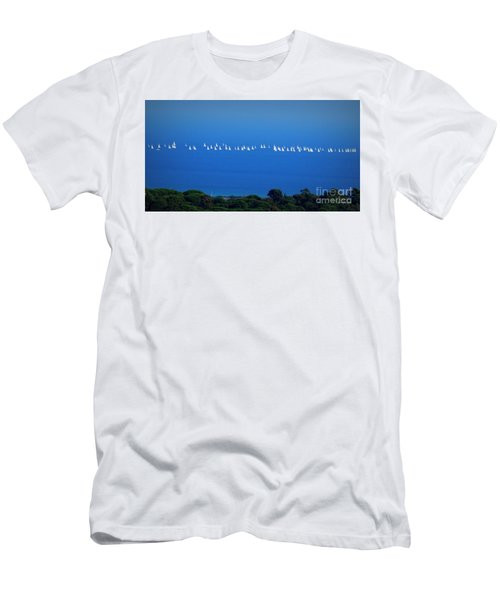 Sailing The Sea And Sky Men's T-Shirt (Athletic Fit)