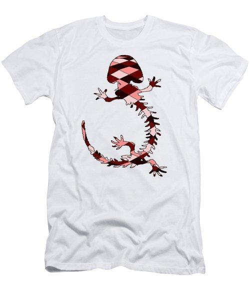 Salamander Skeleton Men's T-Shirt (Slim Fit) by Mordax Furittus