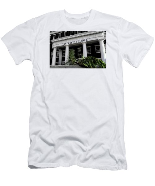 Men's T-Shirt (Slim Fit) featuring the photograph Salem College by Jessica Brawley