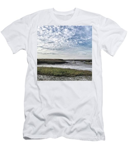 Salt Marsh And Creek, Brancaster Men's T-Shirt (Athletic Fit)