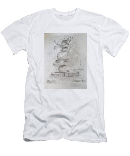 Sammy Balancing Men's T-Shirt (Athletic Fit)