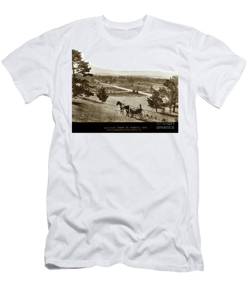 Samuel J. Duckworth Pauses To Look Upon What Would Become Carmel 1890 Men's T-Shirt (Athletic Fit)