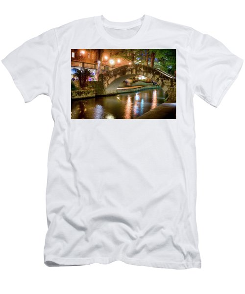 San Antonio River Walk V1 Men's T-Shirt (Athletic Fit)