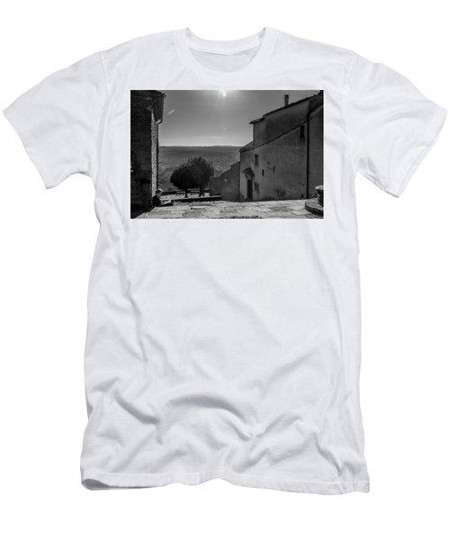 San Francesco Monastery - Fiesole, Italia. Men's T-Shirt (Athletic Fit)