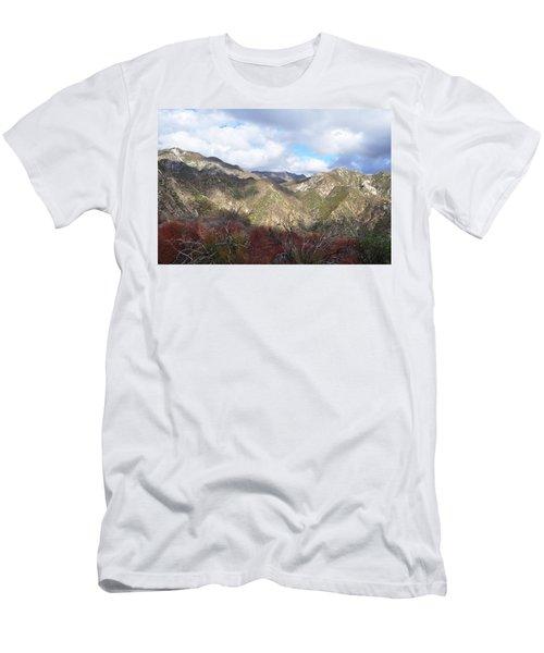 San Gabriel Mountains National Monument Men's T-Shirt (Slim Fit) by Kyle Hanson