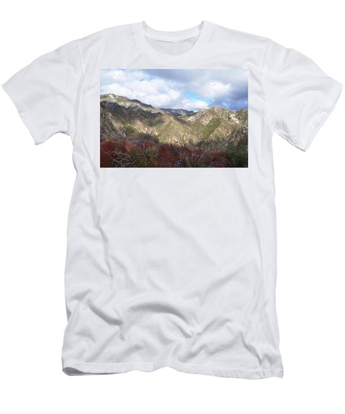 San Gabriel Mountains National Monument Men's T-Shirt (Athletic Fit)