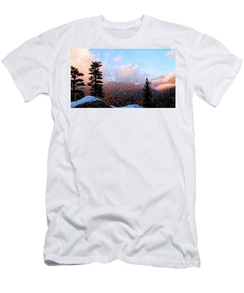 San Jacinto Mountains 2 - California Men's T-Shirt (Athletic Fit)