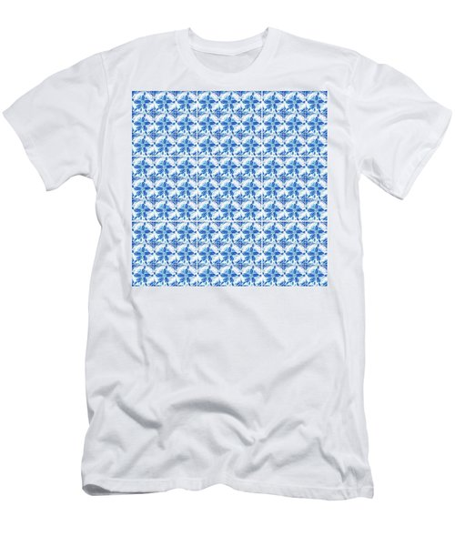 Sand Dollar Delight Pattern 1 Men's T-Shirt (Athletic Fit)