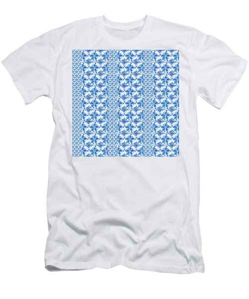 Sand Dollar Delight Pattern 2 Men's T-Shirt (Athletic Fit)