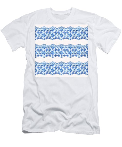 Sand Dollar Delight Pattern 4 Men's T-Shirt (Athletic Fit)