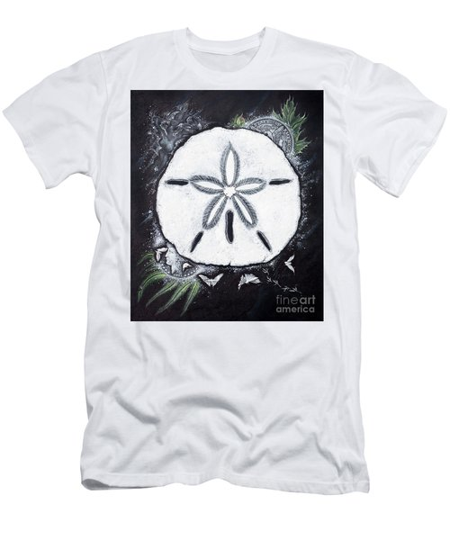 Sand Dollars Men's T-Shirt (Slim Fit) by Scott and Dixie Wiley