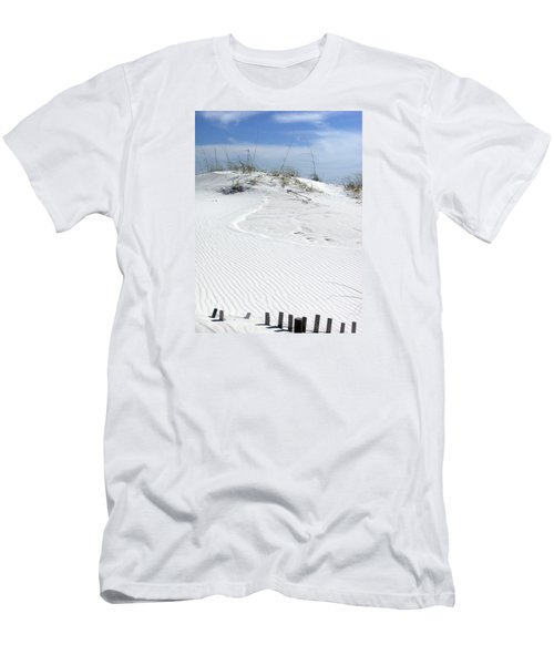 Men's T-Shirt (Slim Fit) featuring the photograph Sand Dunes Dream 2 by Marie Hicks