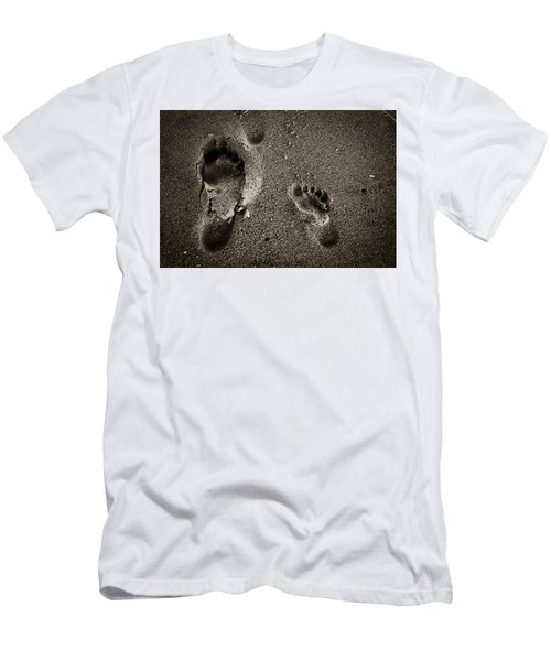 Sand Feet Men's T-Shirt (Athletic Fit)