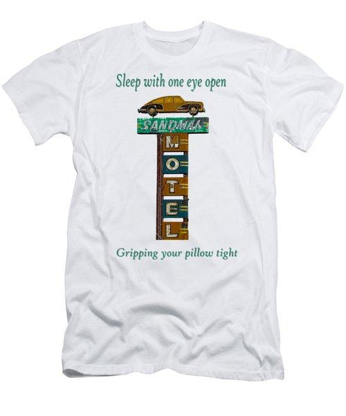 Sandman Motel 2 Men's T-Shirt (Athletic Fit)