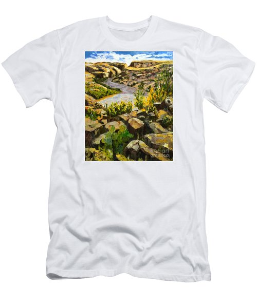 Santa Elena Canyon Men's T-Shirt (Athletic Fit)