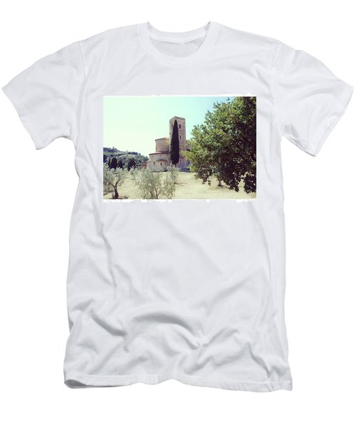 Abbey Of Sant'antimo Men's T-Shirt (Athletic Fit)