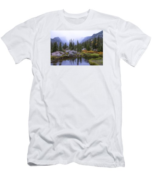Saturated Forest Men's T-Shirt (Slim Fit) by Chad Dutson